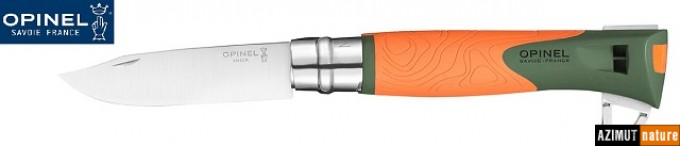 Opinel - Couteau Opinel Explore N° 12 Orange