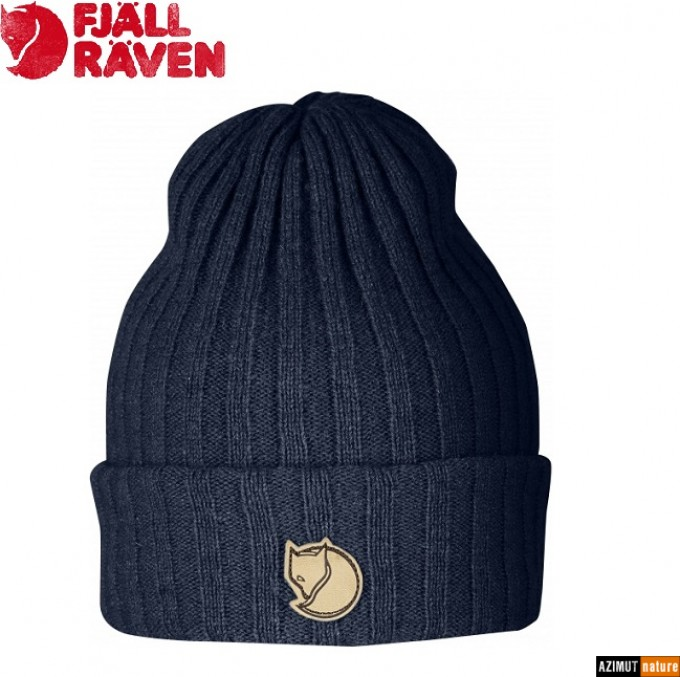 Fjallraven - Bonnet Byron Hat Laine Dark Navy