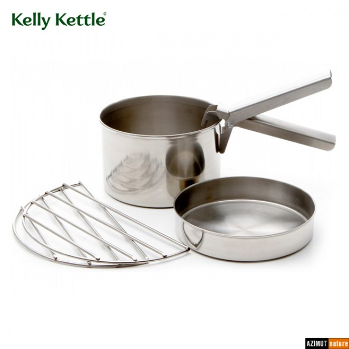 Kelly Kettle - Gamelle Cook Set Inox Large