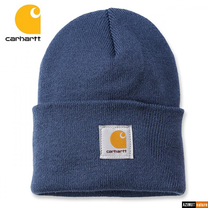 Carhartt - Bonnet Watch Hat A18 - Dark Blue
