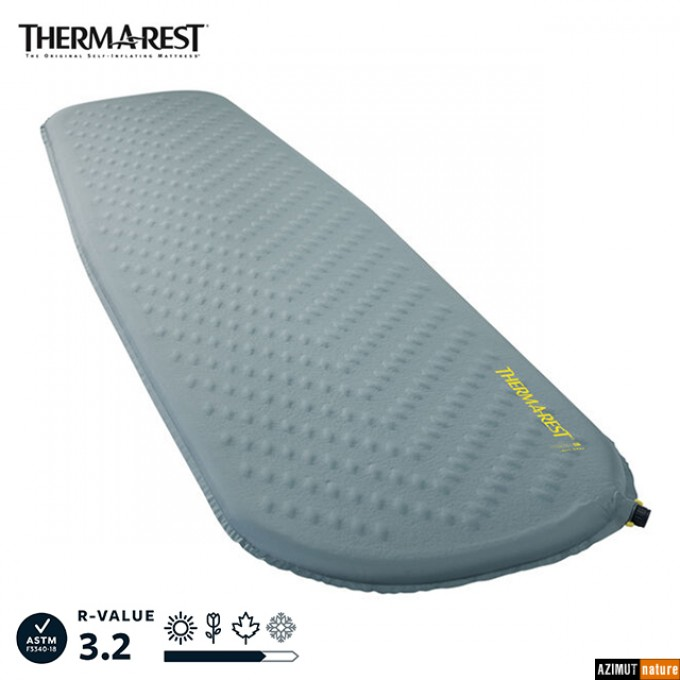 ThermaRest - Matelas Auto-gonflant Trail Lite Trooper Grey