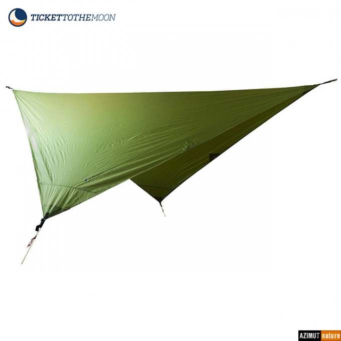 Ticket To The Moon - Tarp spécial hamac 2.5 x 2.5m.