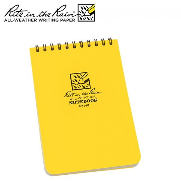 Rite in the rain - Carnet Note Book imperméable 10 x15 cm 146 Jaune