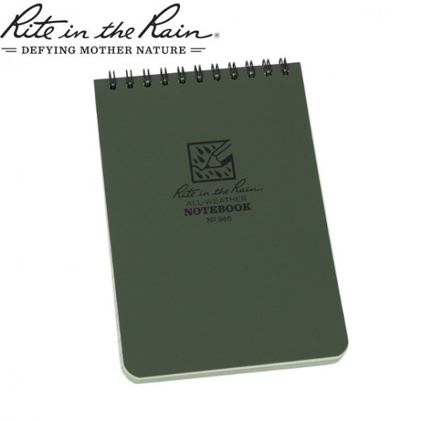 Rite in The Rain - Carnet Note Book imperméable 10x15cm Vert
