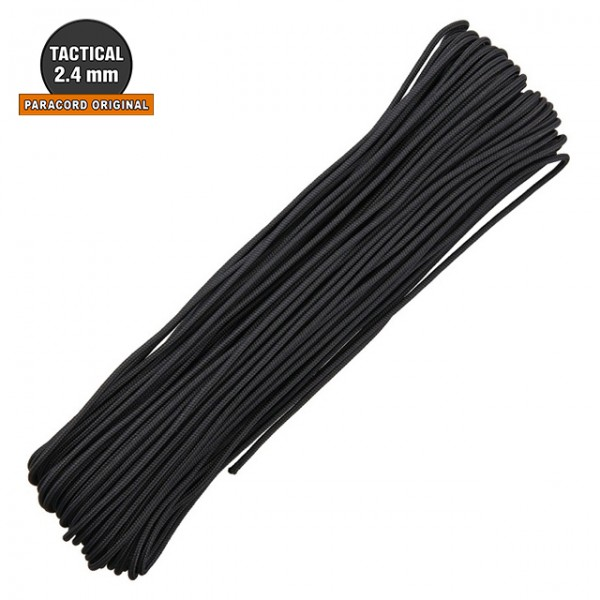 Atwood - Paracord Tactical 2.4mm - 30m Black