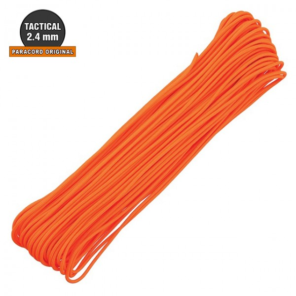 Atwood - Paracord Tactical 2.4mm - 30m Orange