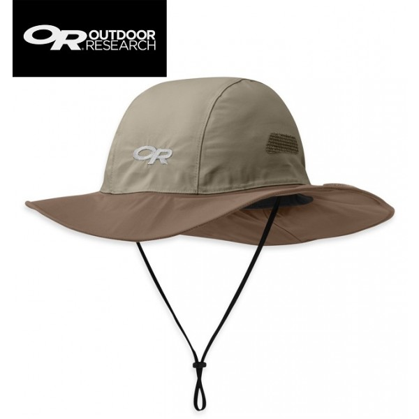 Outdoor Research - Chapeau Seattle Sombrero Gore-tex Khaki / Java L