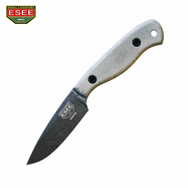 Esee - Couteau Esee JG3 Camp Lore James Gibson + Etui Cuir