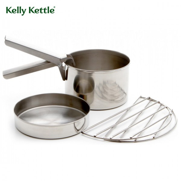 Kelly Kettle - Gamelle Cook Set Inox Small pour Trekker