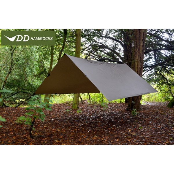 DD Hammock - Tarp Super Light 3 X 2.9 Coyote Brown