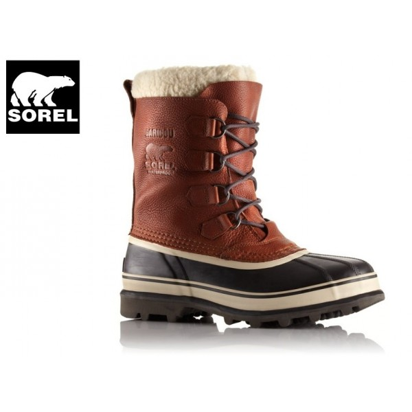 Sorel - Boots Caribou Wool -40°c Tobaco