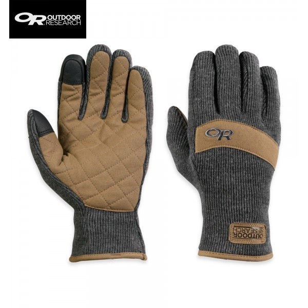 Outdoor Research - Gants Exit Sensor Gloves Charcoal
