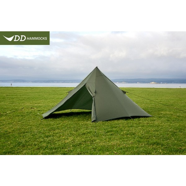DD Hammocks - Tente Superlight Pyramid Tent Olive Green