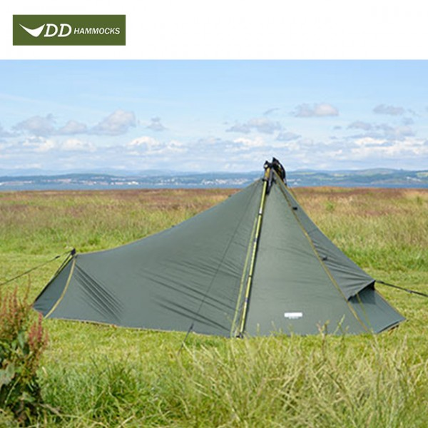 DD Hammocks - Tente Superlight Tarp Tent - 1 Place - Olive Green
