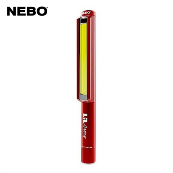 Nebo - Lampe Lil Larry 250 Lumens Rouge