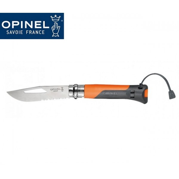 Opinel - Couteau Outdoor N° 8 Orange