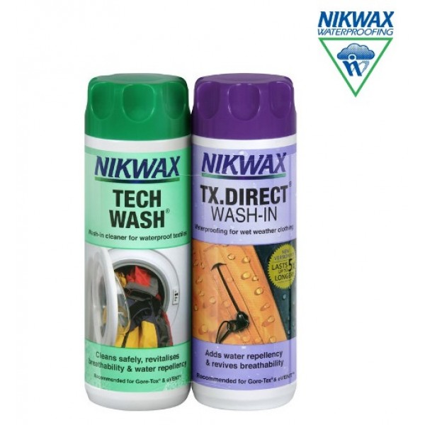 Nikwax Twin Pack 2 X 300ml