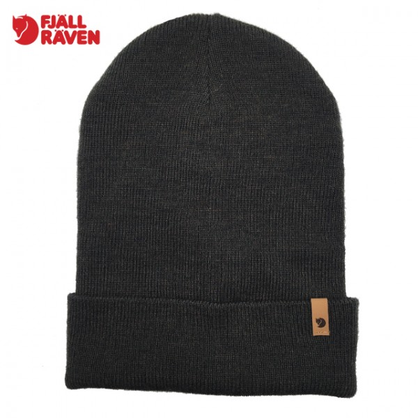 Fjallraven - Bonnet Classic Knit Hat - Dark Olive
