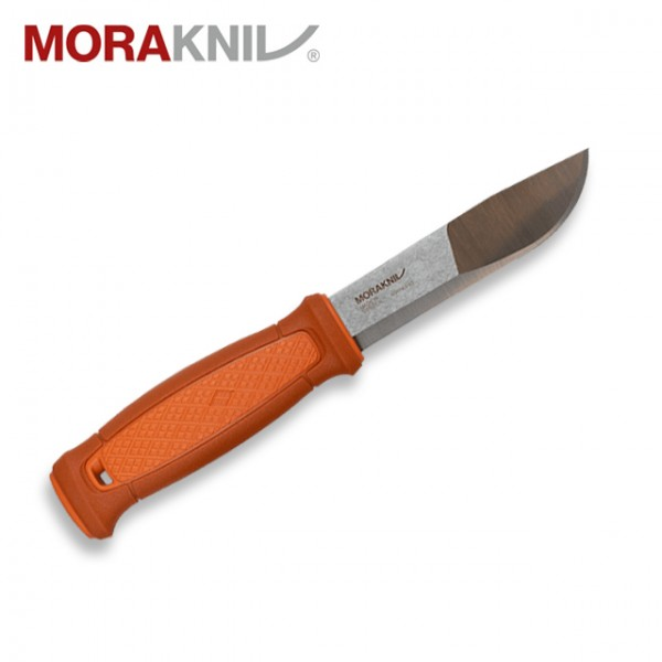 Morakniv - Couteau Mora Kansbol Inox Multi-Mount Burnt Orange