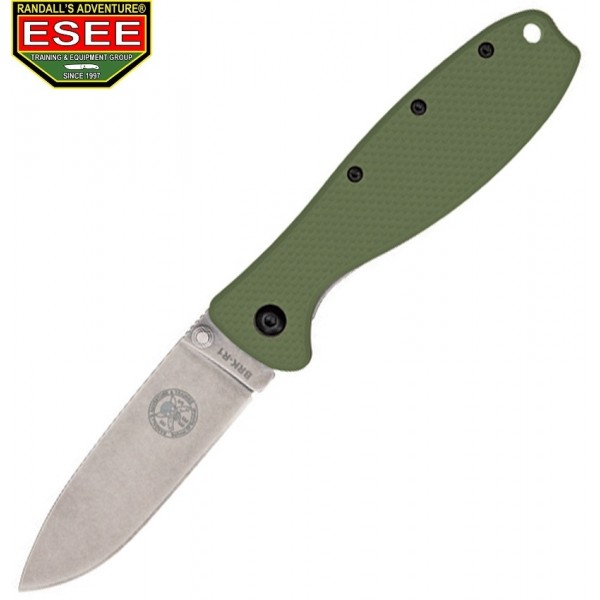 Esee - Couteau Zancudo Framelock Handle Olive