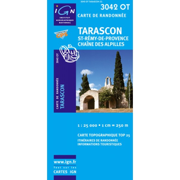 Carte IGN top25 Tarascon