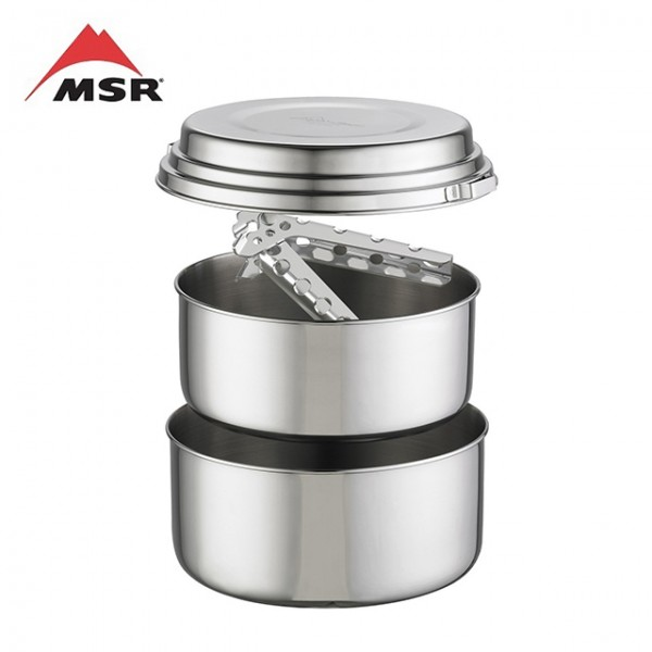MSR - Casserole Alpine 2 Pot Set Inox