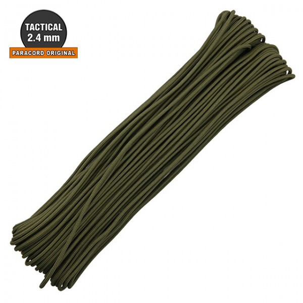 Atwood - Paracord Tactical 2.4mm - 30m Olive Drab