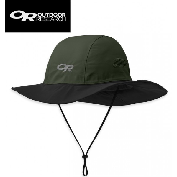 Outdoor Research - Chapeau Seattle Sombrero Gore-tex Noir / Forest L