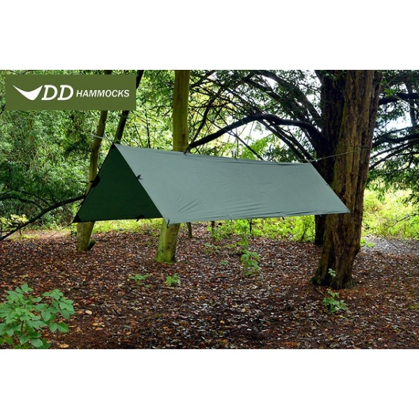 DD Hammocks - Tarp Super Light S 2.8 x 1.5 Olive