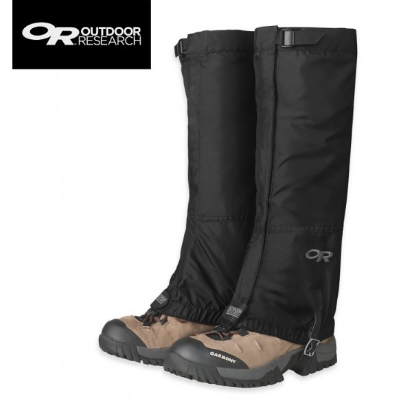 Outdoor Research - Guetres Rocky Mountain High Gaiters Black