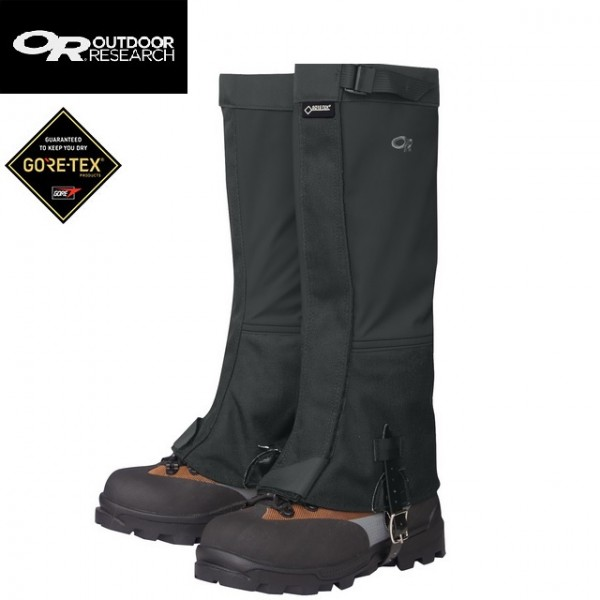 Outdoor Research - Guêtres Crocodile Gaiters Femme Black