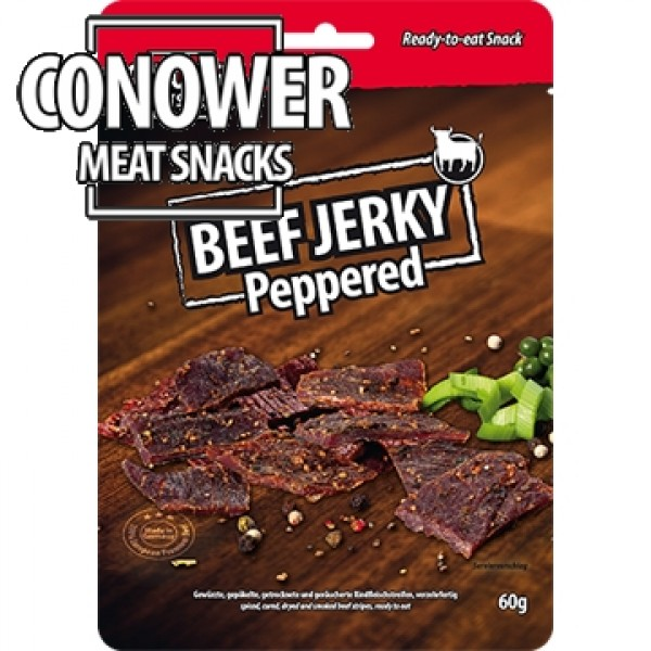 Conower - Beef Jerky Peppered 60g