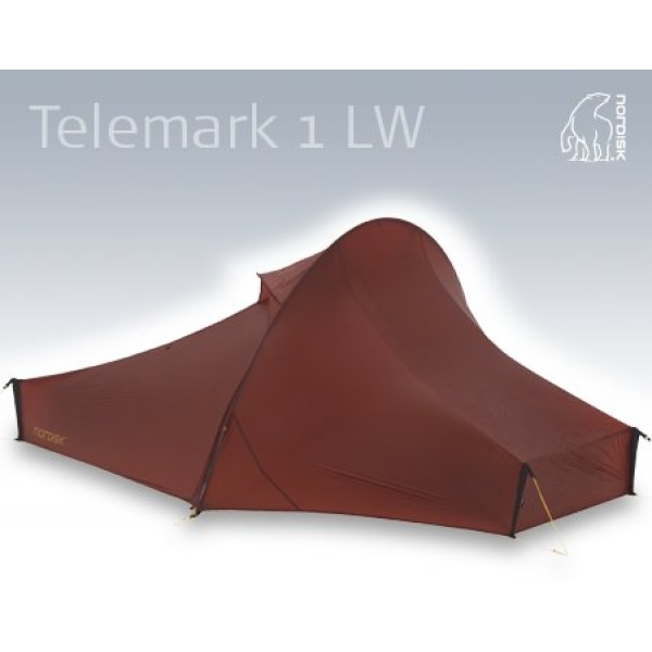 Nordisk - Tente Telemark 1 LW Red