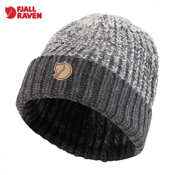 Fjallraven - Bonnet Chunky Hat - Dark Grey