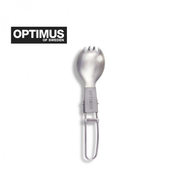 Optimus - Cuillère Fourchette pliable Titanium Folding Spork