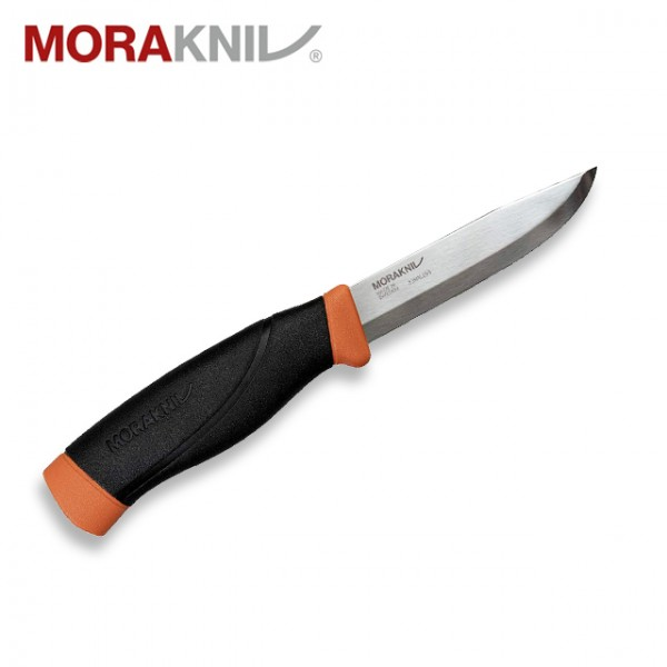 Morakniv - Couteau Mora Companion Heavy Duty Inox Orange Burnt