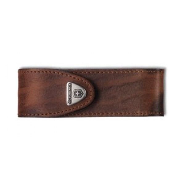 Etui 111mm + 11p cuir marron
