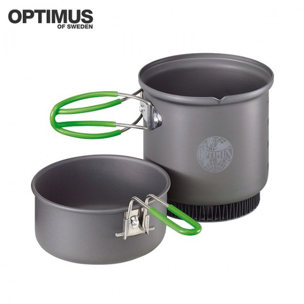 Optimus - Set de Cuisine Terra Weekend HE Alu - 0.95 L
