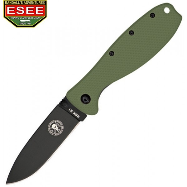 Esee - Couteau Zancudo Framelock Black Handle Olive