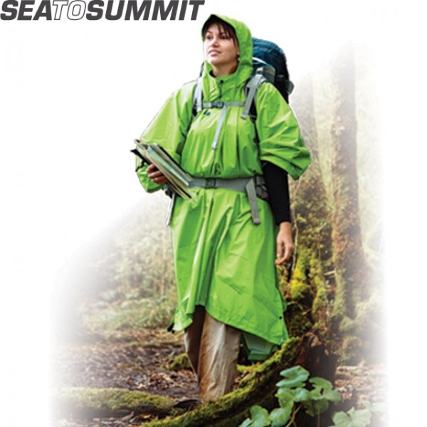 Sea To Summit - Poncho Tarp Nylon 70D Vert
