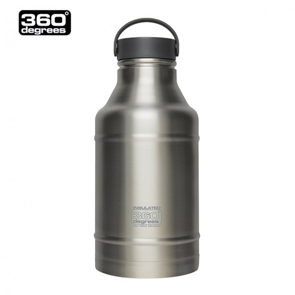 360 Degrees - Bouteille isotherme Inox Growler 1.8 L